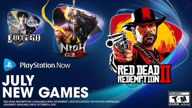 Red Dead Redemption 2 Playstation Now